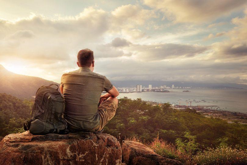Holiday Destination, Men Travelling Alone