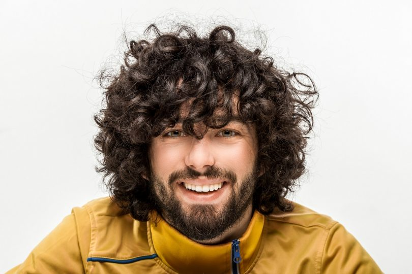Mens Curly Hair